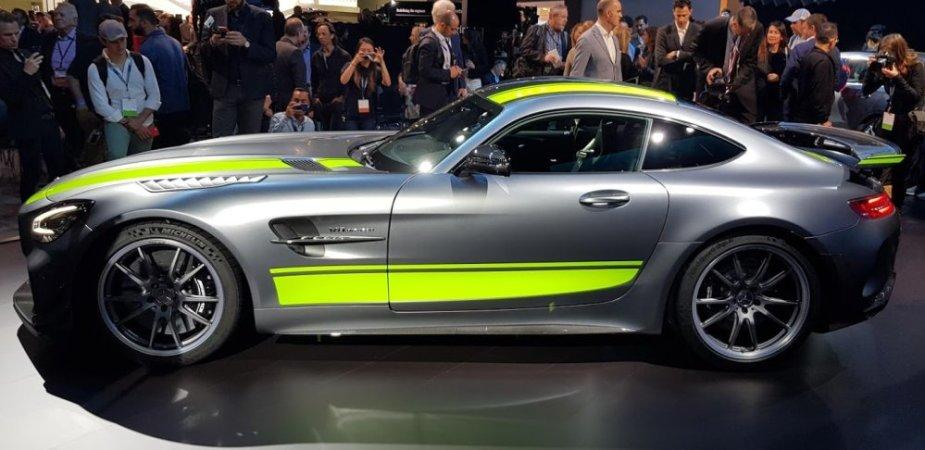 Mercedes-Benz AMG GT R Pro Side