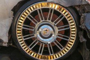Burned Maybach Brakes