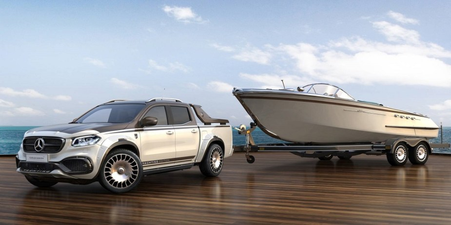 Mercedes X-Class EXY Yachting Edition