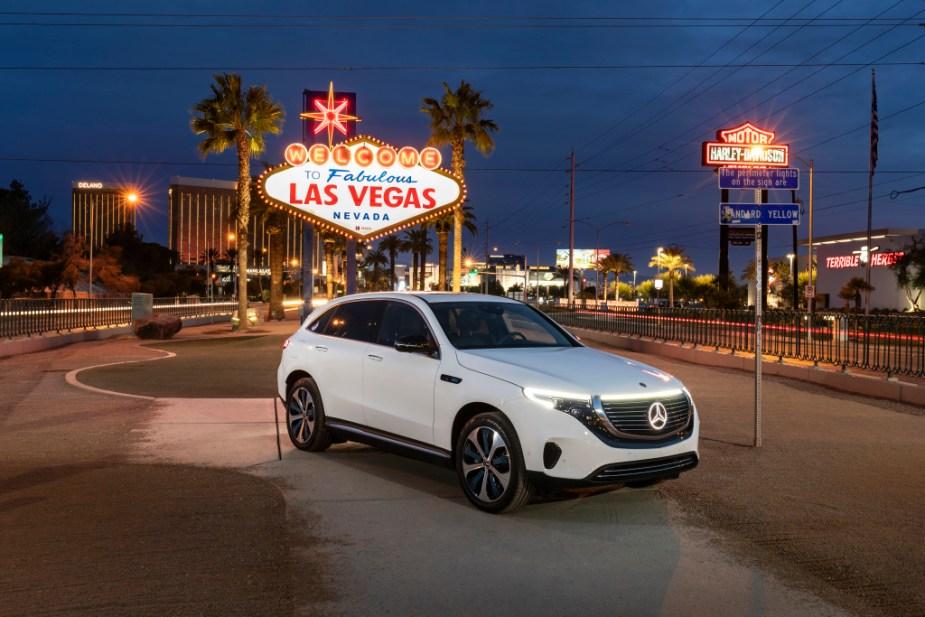 Mercedes-Benz EQC: US Premiere auf der CES 2019 in Las Vegas.Mercedes-Benz EQC: US Premiere at the 2019 CES in Las Vegas.