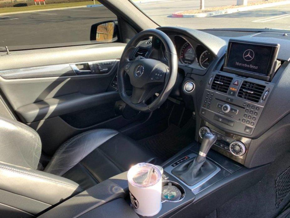 2010 AMG C63 Interior