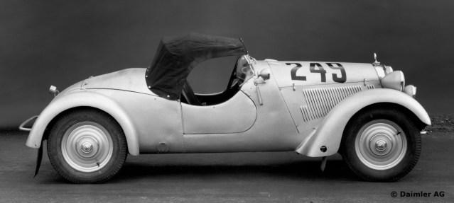 1938 Mercedes-Benz Gelandesport Zweisitzer 170VS Alpine Racer ORGINAL Daimler