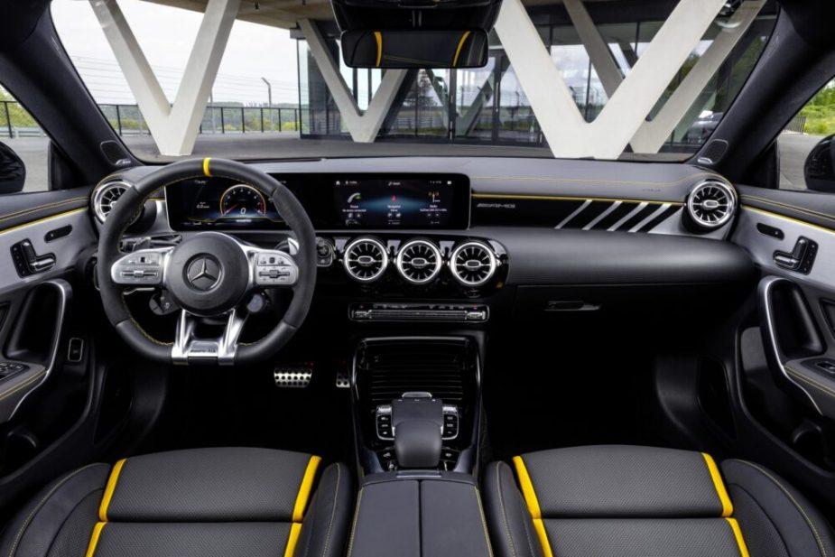 CLA 45 Coupe Interior