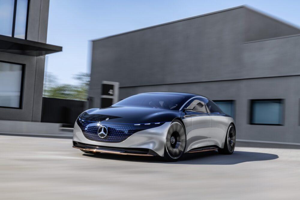 Mercedes-Benz Vision EQS - MBWorld