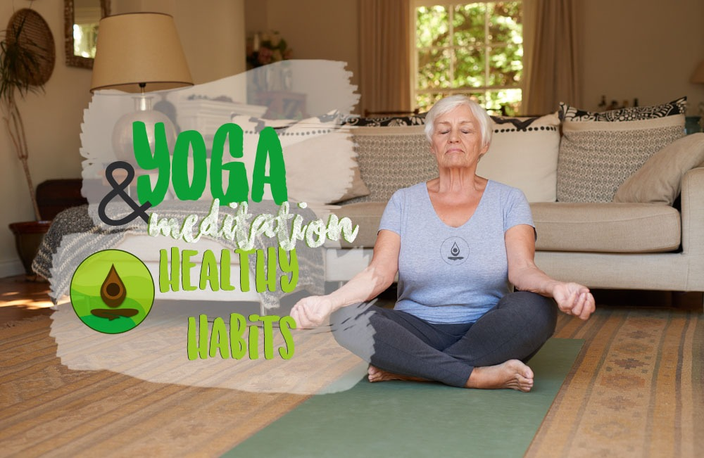 yoga and meditation tools for creating healthy habits