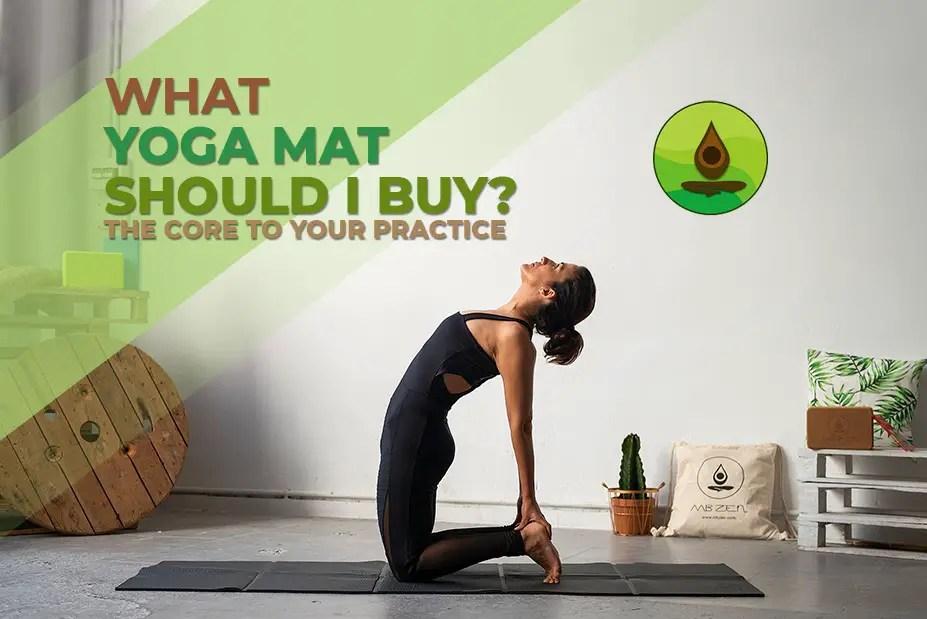 40 year old woman camel pose mb zen yoga mat