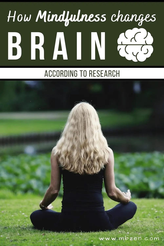 Mindfulness Change Brain Meditation