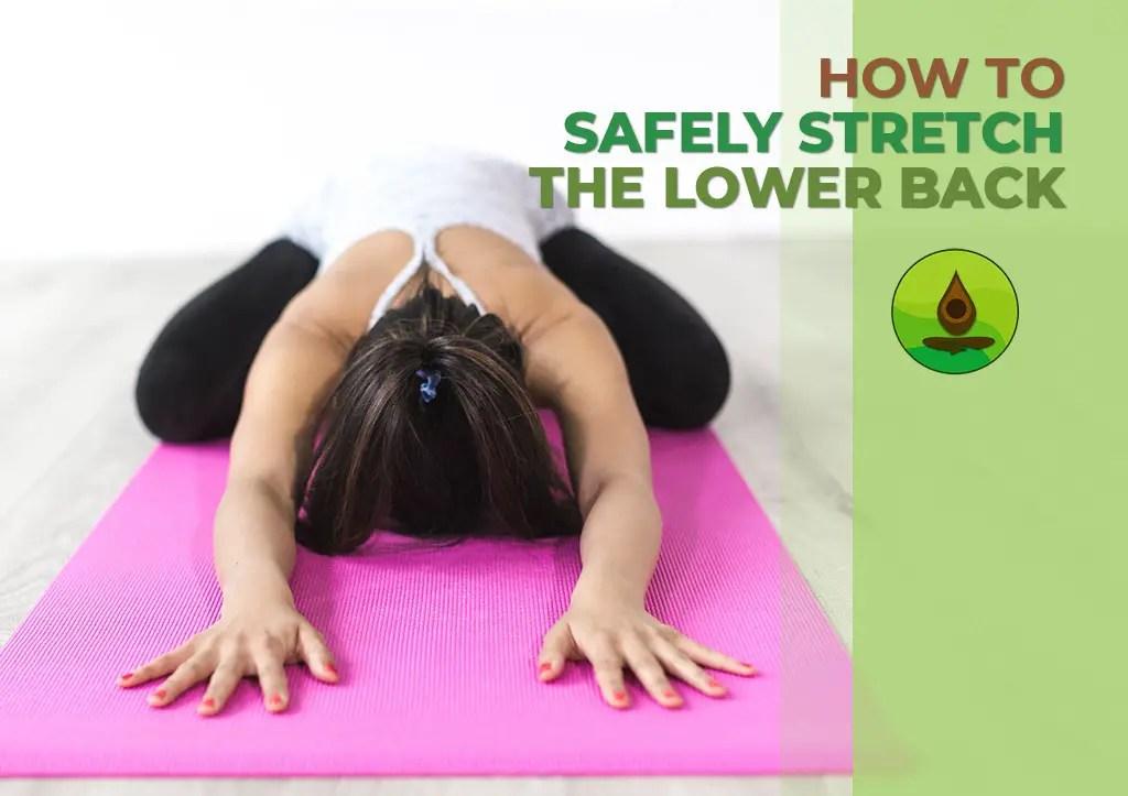 how stretch lower back women 40 plus