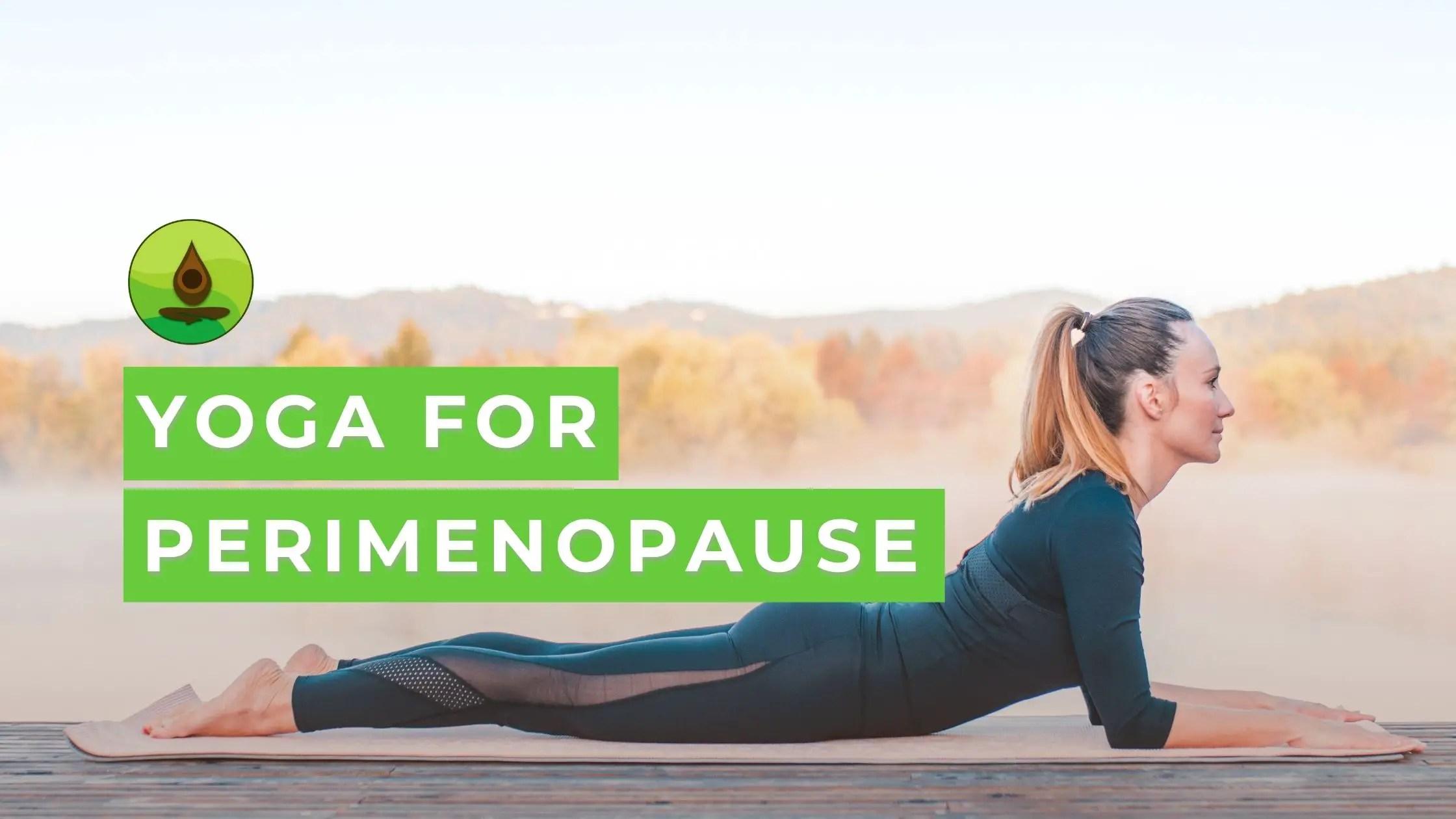 yoga poses perimenopause
