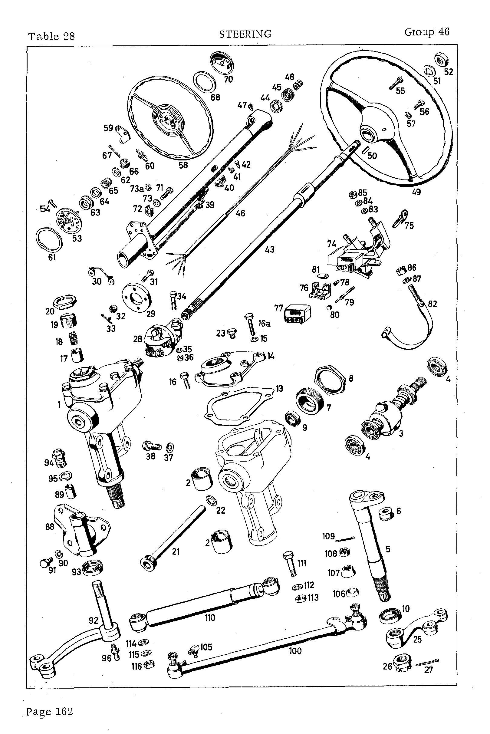 Mercedes-Benz Ponton Ignition Switch Repair © www