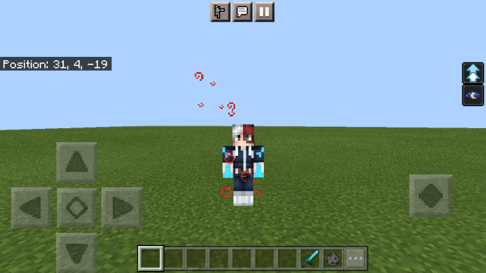 Titans spawn in the daytime, you can kill them by perfectly hitting the titans nape will a full odm gear, you can also disable the titan by. My Hero Academia Minecraft PE Addon