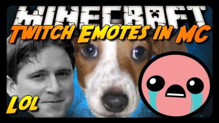 minecraft mod kappa twitch emotes chat emoticons experience cool icons channel symbols 4head mods 9minecraft mc skins keepo global twitchtv