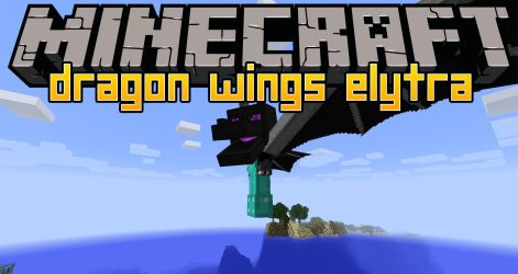 wings dragon mod elytra minecraft mc wing giant items