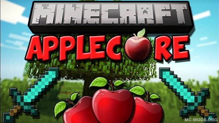 AppleCore mod mc
