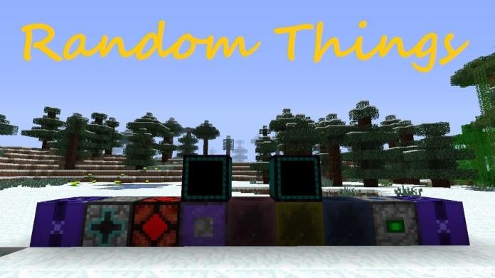 random things mod for minecraft