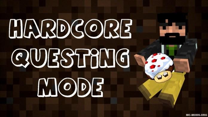 hardcore questing mode mod