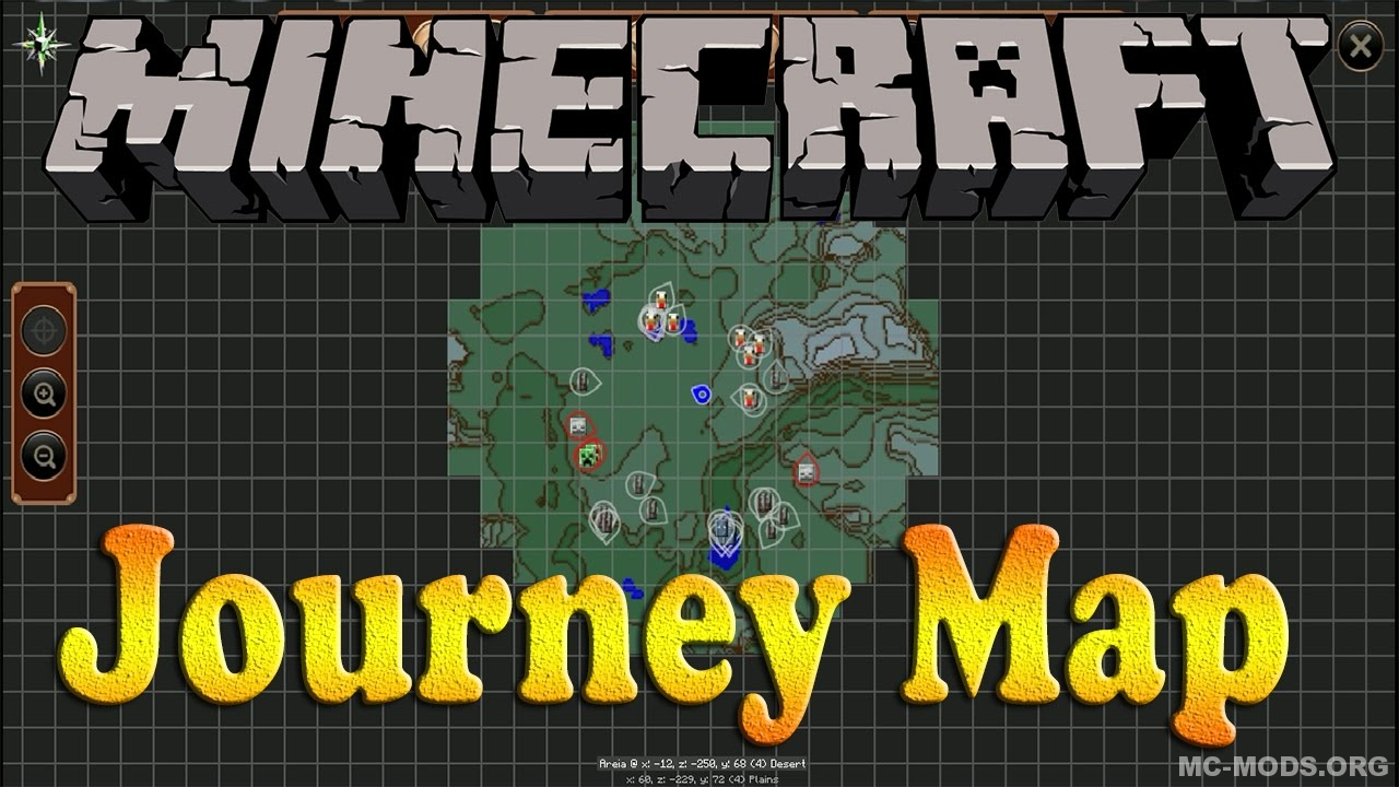 Journeymap Mod 1 13 1 12 2 Mc Mods Org