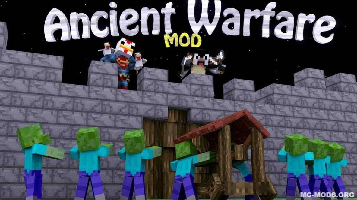 Ancient Warfare 2 ancient warfare 2 mod 1.13/1.12.2 - mc-mods