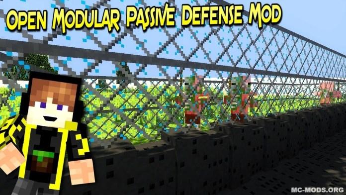 open modular passive defense mod