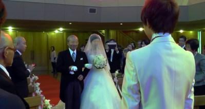 ザビエル教会結婚式