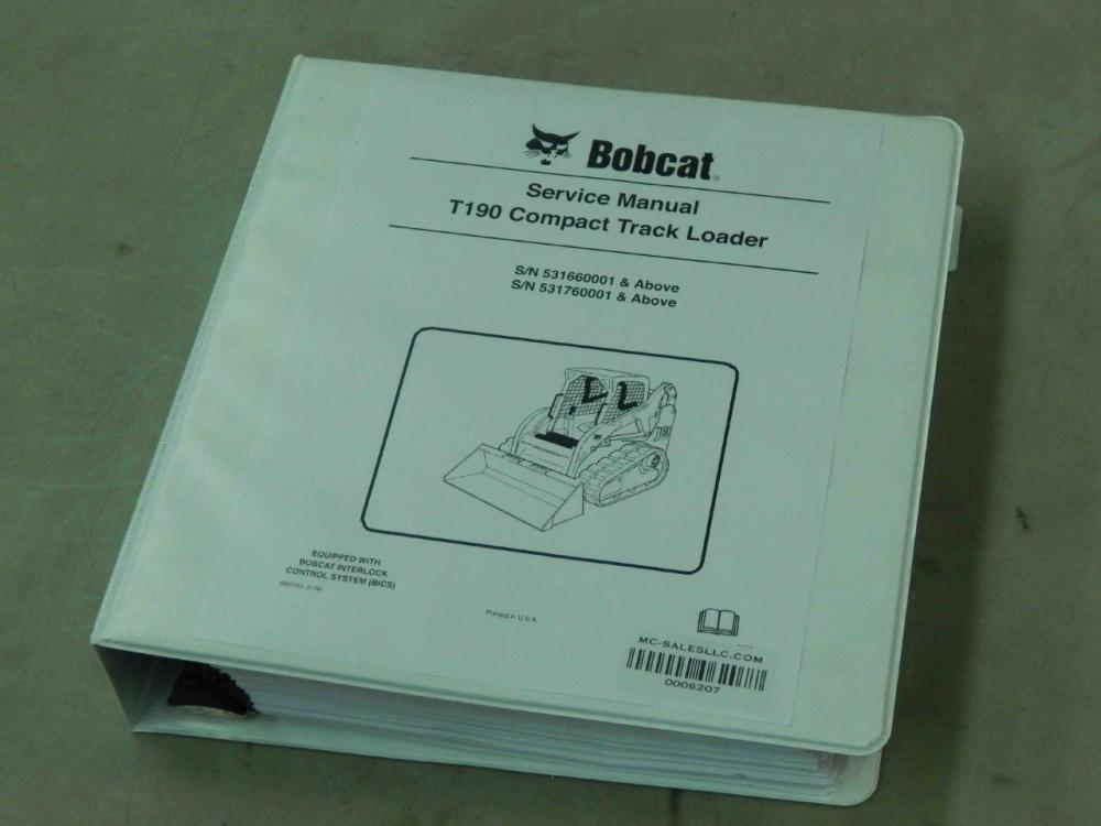 medium resolution of bobcat t190