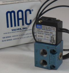 mac valves 45a ea1 ddda 1ba 24vdc 7 3 watts brand new n box 45aea1ddda18a mc sales llc [ 1280 x 952 Pixel ]