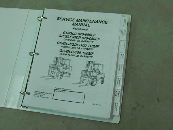 Clark Forklift Wiring Diagram - Year of Clean Water on