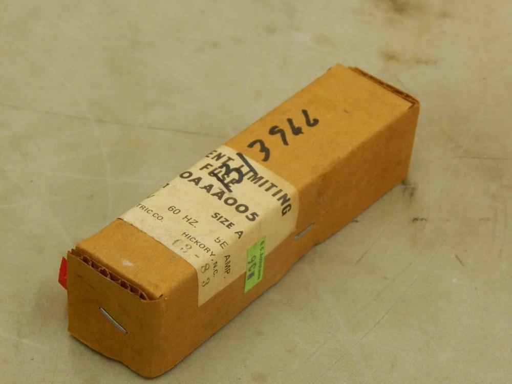 medium resolution of  351 general electric ge 9f60aaa005 type ej 1 current limiting fuse 5e amp