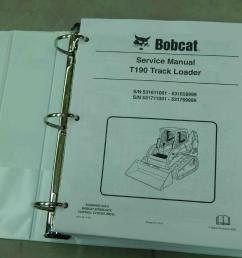 bobcat t190 pn 6904146 track loader service manual  [ 1280 x 960 Pixel ]