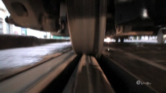 特典映像「カメラを台車に固定した車輪の動き」