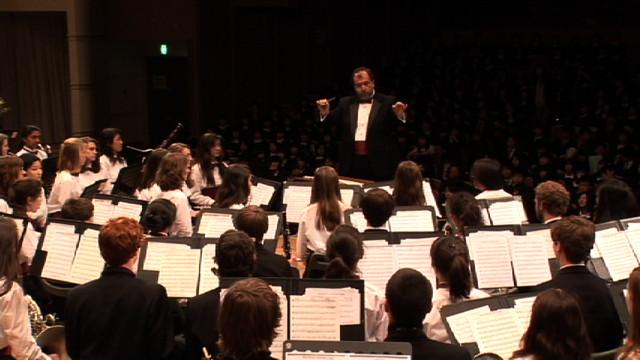 記念演奏会・コンコード カーライル高等学校 コンサートバンド