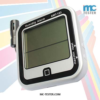 Alat Pengukur Kelembaban Udara & Suhu Ruangan Thermometer AMT-123