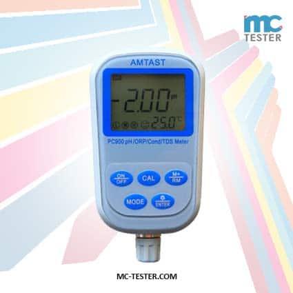 Alat Pengukur Keasaman Air 7 IN 1 pH ORP Konduktivitas TDS dan Suhu - PC900
