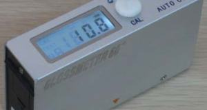 Alat Pengukur Tingkat Kekilapan suatu permukaan benda Gloss meter AMN60