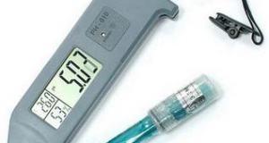 pH Meter, Kelembaban, dan Suhu Air seri KL-010