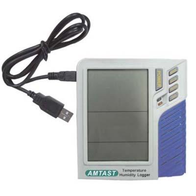 Thermo Hygrometer Digital Koneksi USB PC AMT207