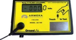 Pengukur energi listrik statis ae790