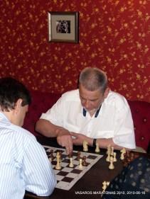 BIRŽELIO 16 d. turnyro III vietos laimėtojas Donatas Lapienis