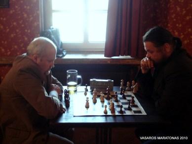 2010-06-02 žaibo turnyras: Gintaras Songaila, Rimantas Paliušis