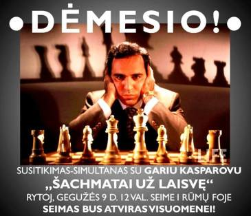 Garis Kasparovas Lietuvos Respublikos Seime