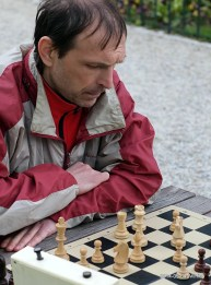 Sergejus; žaibo šachmatai; Bernardinų sodas