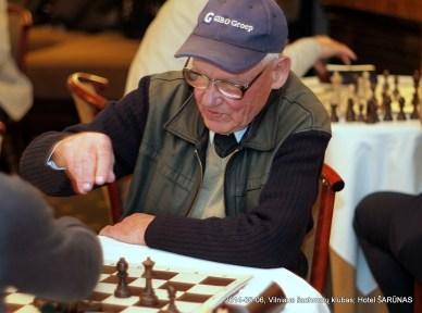 Vidmantas Putelis; Vilniaus šachmatų klubas