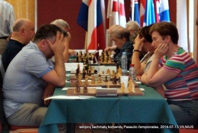 Virginijus Dambrauskas; senjorų šachmatų komandų Pasaulio čempionatas