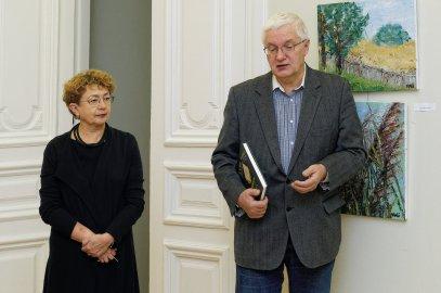 Faina Kukliansky – Lietuvos žydų bendruomenės pirmininkė; Vilius Kavaliauskas - Ministro Pirmininko padėjėjas