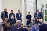 Faina Kukliansky – Lietuvos žydų bendruomenės pirmininkė; Vilius Kavaliauskas - Ministro Pirmininko padėjėjas; Gintas Zybartas; Boris Rositsan