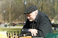 Vilnius, Bernardinų sodas; šachmatai