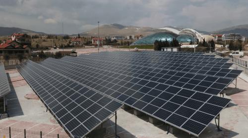 Selçuklu Belediyesi Güneş Enerjisi Santrali Yatırımlarını Sürdürüyor