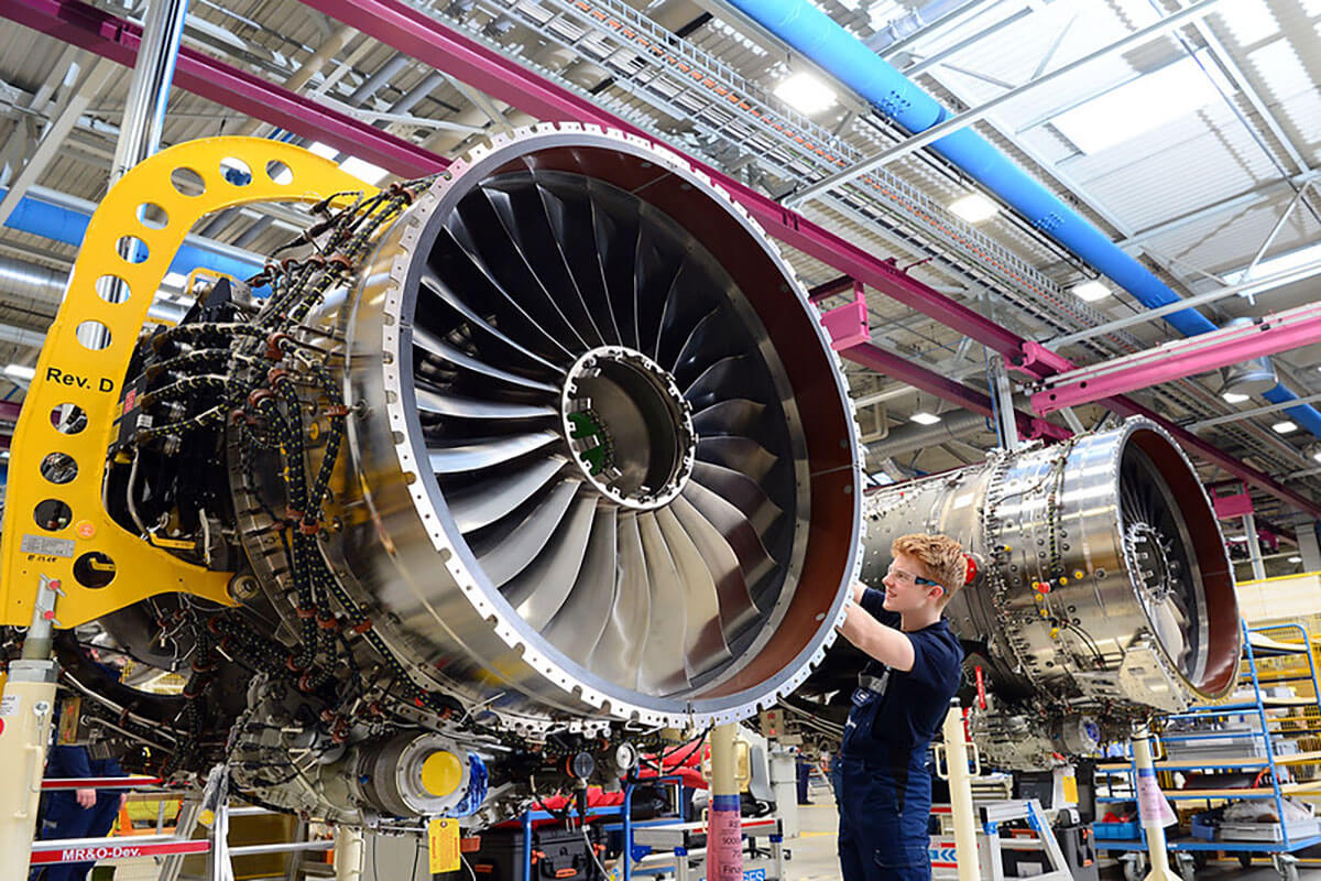 Rolls-Royce'un Pearl 700 Motoru, SAF ile Çalışıyor