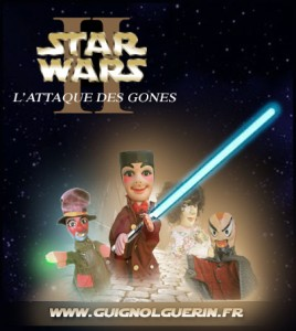 Guignol Star Wars, parodie de l'attaque des clones
