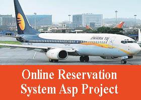 218 – Online Reservation System Asp Project